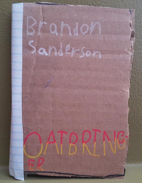 cardboard book | DevotedQuilter.blogspot.com