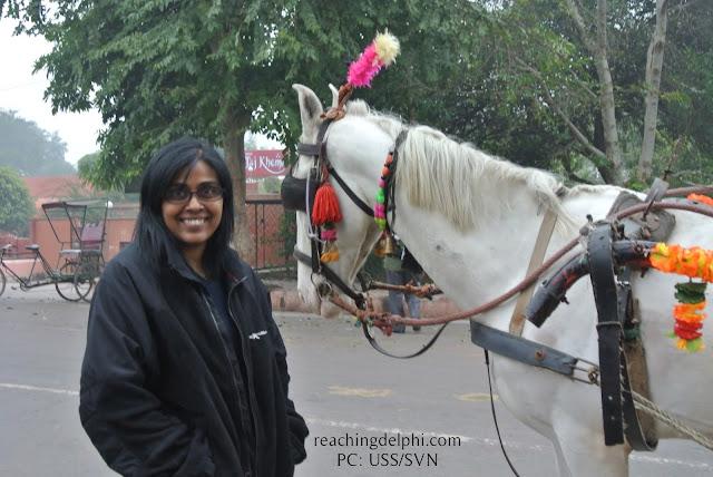 Agra, Rickshaw, Reaching Delphi