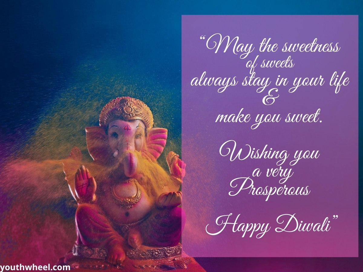 Happy Diwali Ganesh and Laxmi pics with quotes and wishes