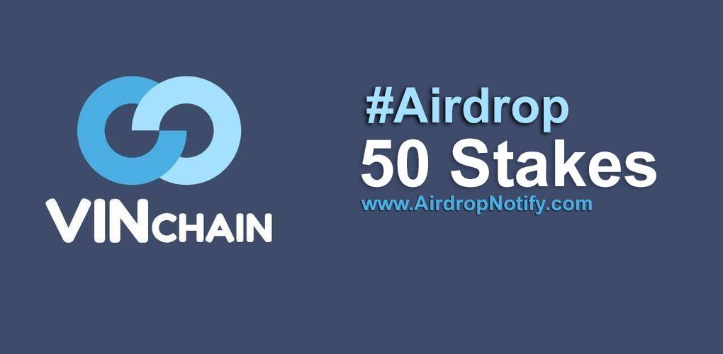 Vinchain Airdrop Alert | Free Airdrop Coins 2018