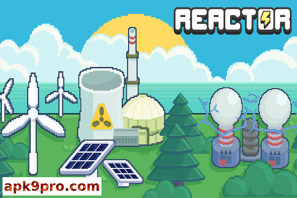 Reactor – Idle Tycoon. Energy Business Manager v1.68.03 b214 Apk + Mod (File size 25 MB) for android