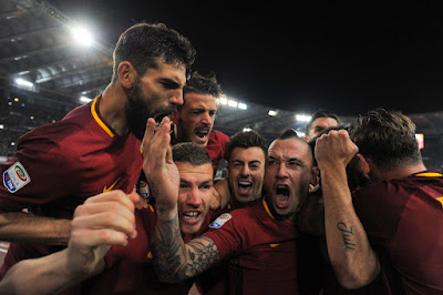 Highlight AS Roma 2-1 Lazio, 18 November 2017