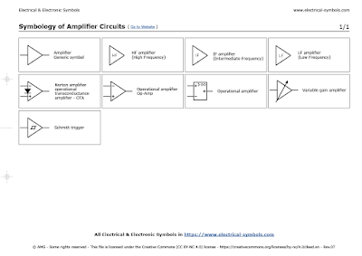 Symbology of Amplifier Circuits