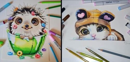 00-Lisa-Saukel-lighane-Cute-Colored-Fantasy-Animal-Drawings-www-designstack-co
