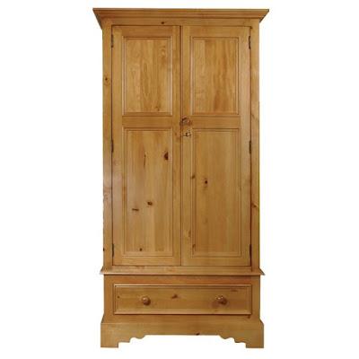 Teak Minimalist waredrobe and Armoire 2 door furniture,interior classic furniture code 106