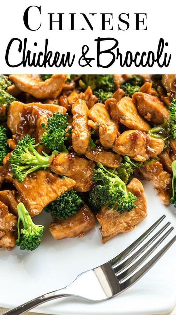 Chinese Chicken and Broccoli #recipes #chineserecipes #food #foodporn #healthy #yummy #instafood #foodie #delicious #dinner #breakfast #dessert #lunch #vegan #cake #eatclean #homemade #diet #healthyfood #cleaneating #foodstagram