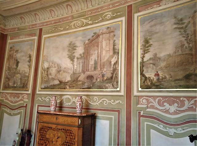 sala interna del Palazzo Myślewicki