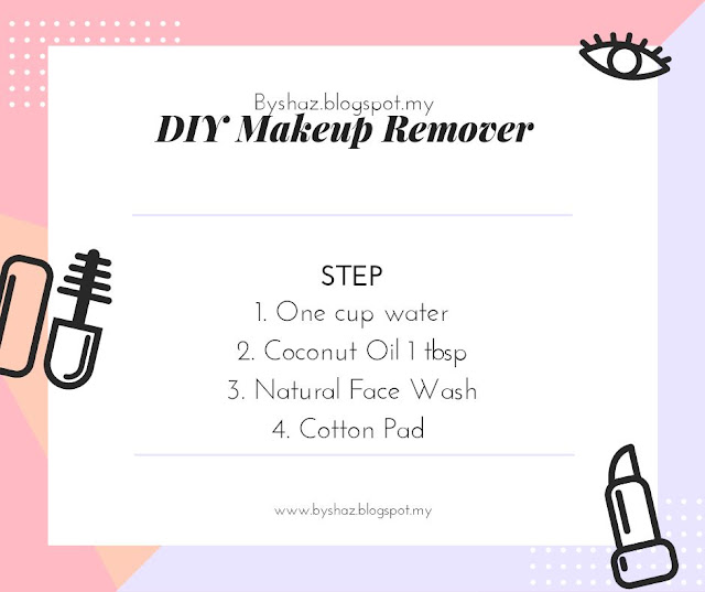 DIY MakepUp Remover