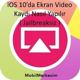iOS 10'da Ekran Video Kaydı Nasıl Yapılır, iOS Ekran Video Çekme, iOS Ekran Video Kaydetme, iOS Ekran Video Kaydetme Programı, iOS Ekran Video, AirShou Nedir, AirShou iOS