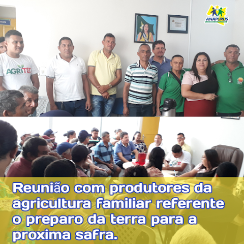Prefeitura de Anapurus e Secretaria de Agricultura reúnem produtores para traçar cronograma de ações do próximo ano