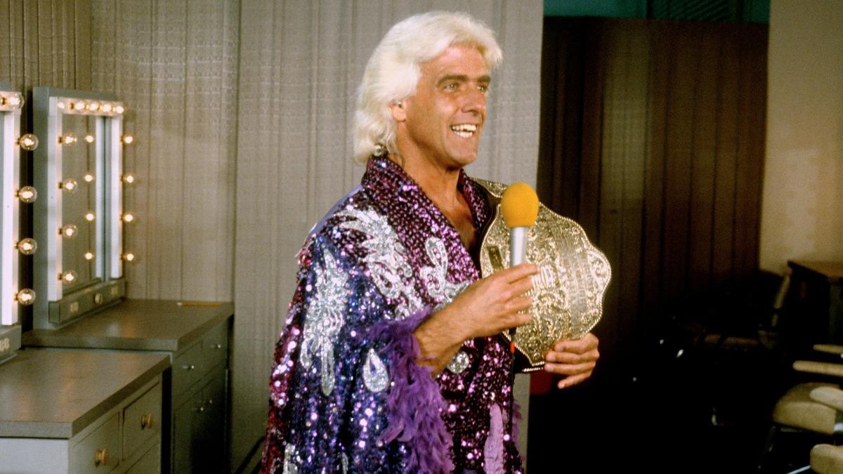 Ric Flair revela quem ele quer que quebre seu recorde de 16 títulos mundiais