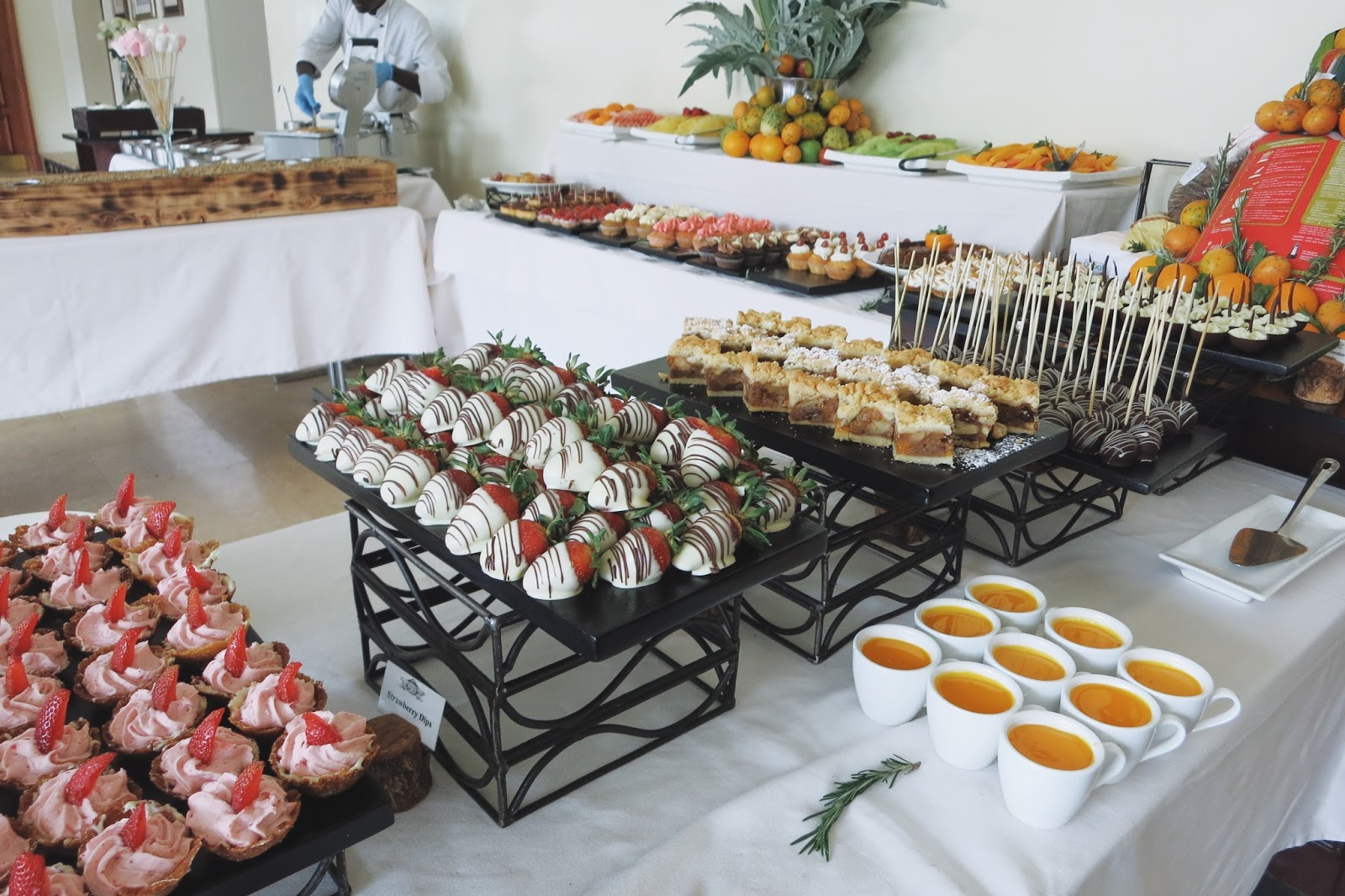 Mount Kenya Safari Club Buffet