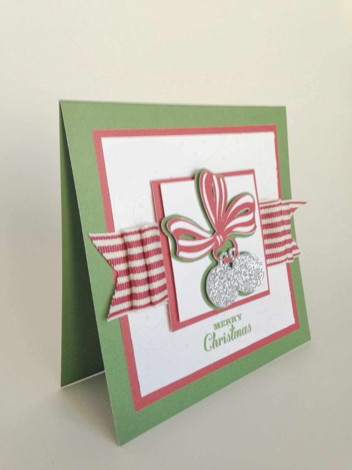 Anna Griffin Christmas Cards.Courtney Lane Designs Jingle Christmas Card Made Using The Anna