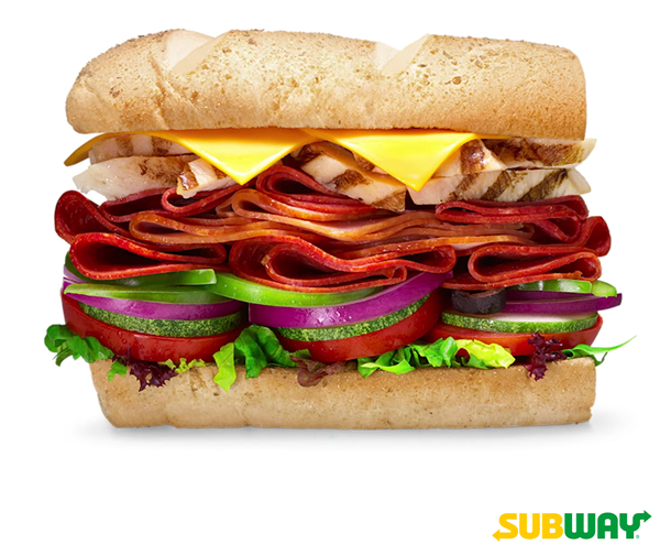 Subway, sub sandwich, submarine sandwich, food, restaurants, snacks, healthy snack, sandwich meal, Subway branches, Subway Philippines, less marketing, more meat, fully loaded sandwich, full loaded meat stack sub, chicken, pepperoni, salami, vegetables, promo, BOTTY via messenger, order via messenger, Lala Food, Grab Food, Subway restaurants, advertising budget, better quality food, Subway app, food delivery