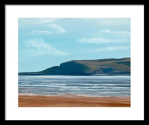 British Seaside by Mark Taylor, Weston Super Mare art, Mark Taylor,