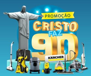Cristo Faz 90 Anos Karcher Promoção 2021