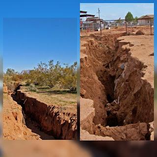 ( VIDEO ) aparecen grietas en Arizona estados unidos.