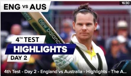 Video: Eng vs AUS: Highlights - Smiths brilliant 211 runs