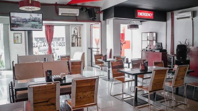 Hospitalis Resto & Bar - Tempat Makan Unik di Jakarta