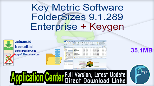 Key Metric Software FolderSizes 9.1.289 Enterprise + Keygen_ ZcTeam.id