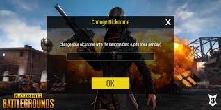 How to change your username in PUBG Mobile
