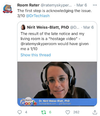 TWiG Nirit Weiss-Blatt Room Rater