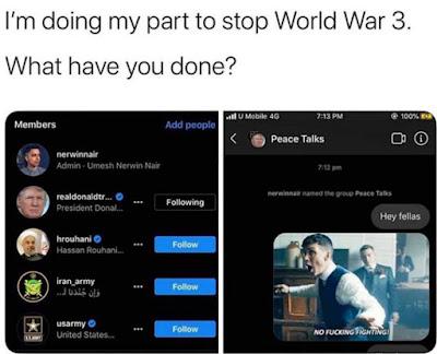 WW3 Meme