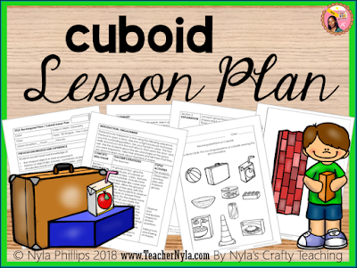 Have lesson plans that are already scripted for you with worksheets for your students. This is a Rectangular Prism Lesson Plan