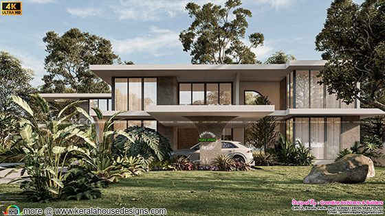 Tropical contemporary style rendering