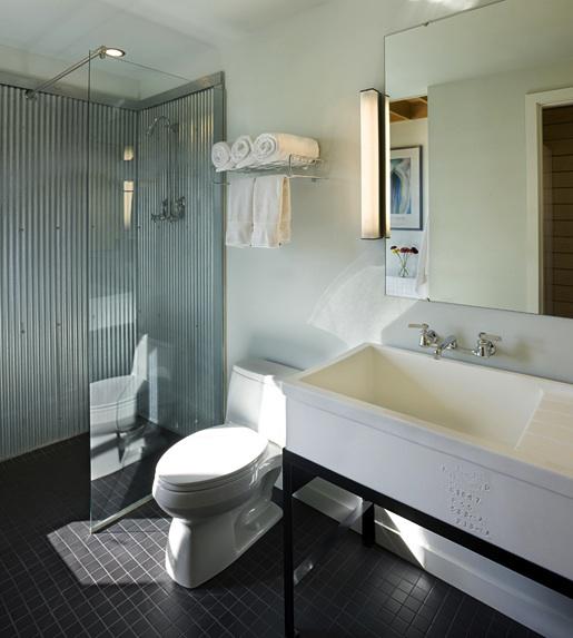 Craft1945 galvanized shower walls - Shower wall material ideas ...