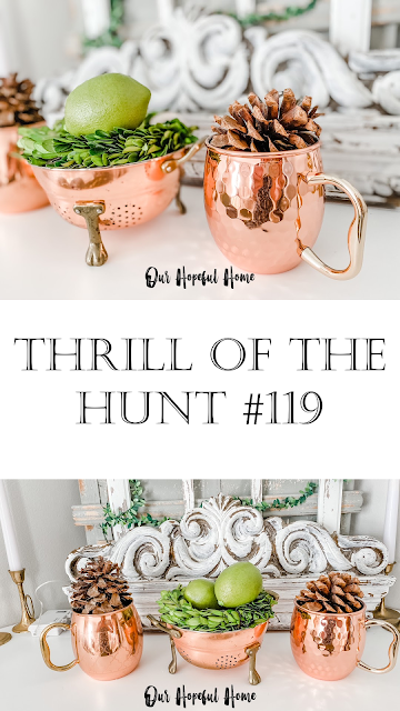Thrill of the Hunt #119 copper cookware