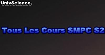 Tous Les Cours  SMPC S2