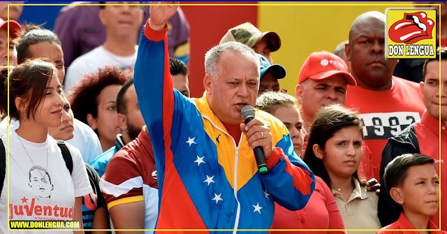 Diosdado informa que no le dirá a nadie lo que fue a hacer a Cuba