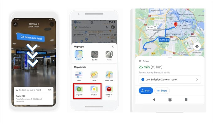 Google maps will introduce over 100 new features, including ar navigation through interiors
