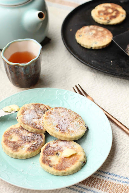 welsh cakes recette