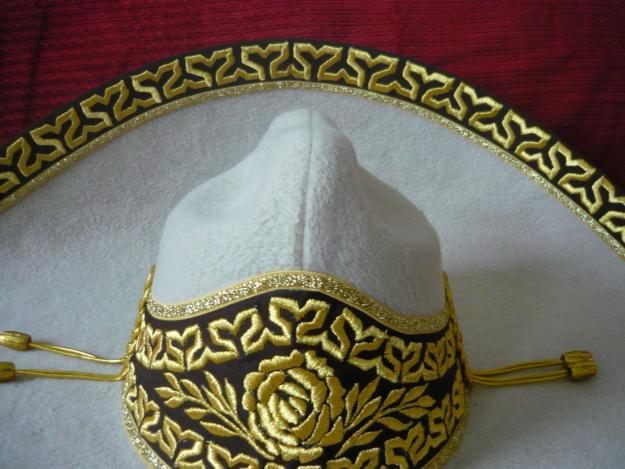 Detalle del sombrero charro. Foto obtenida en internet. 1ec7d3389a3