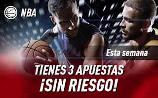 sportium promo NBA Devolución 13-19 enero 2020