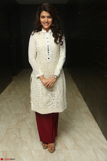 Chitra Shukla in Cream Kurti and Maroon Paijama at Maa Abbayi Audio Release on 20th Feb 2017 034.JPG