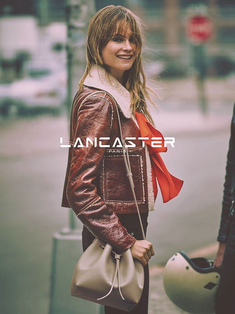 Lancaster Paris Fall/Winter 2015 Campaign featuring Behati Prinsloo