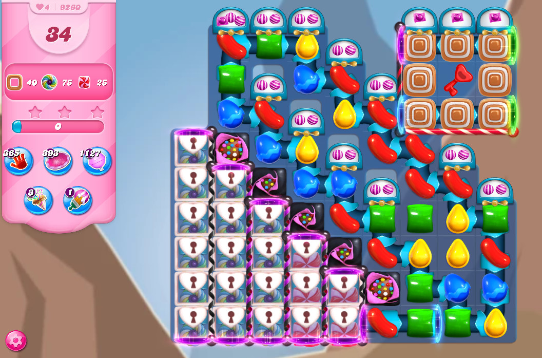 Candy Crush Saga level 9260