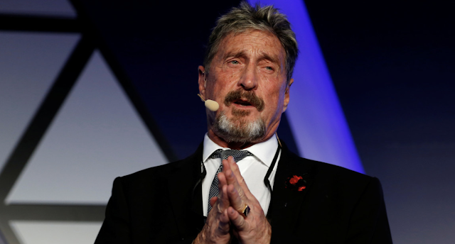 'I'll f**king bury you!' Bitcoin evangelist McAfee vows to expose corrupt US officials & CIA agents if 'disappeared'