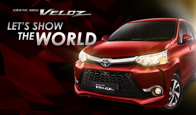 Grand New Toyota Avanza Veloz