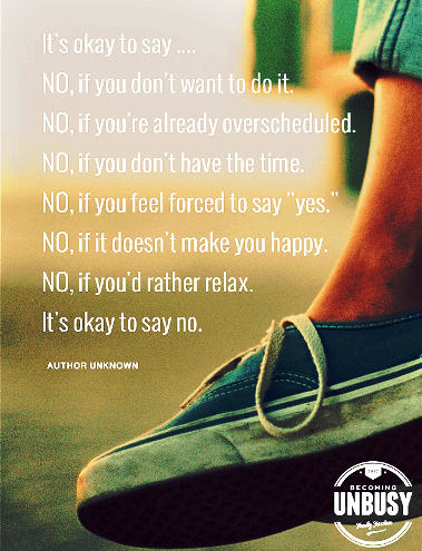It's okay to say NO - #quotes
