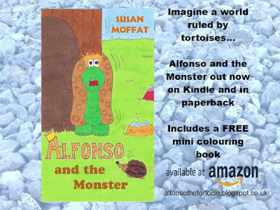 Alfonso and the Monster Book Available Now from Amazon