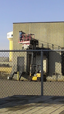 Industry Mayhem Forklift Lifting Scissor Lift