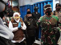 Panglima TNI dan Kapolri Kunjungi Pasar Singosari