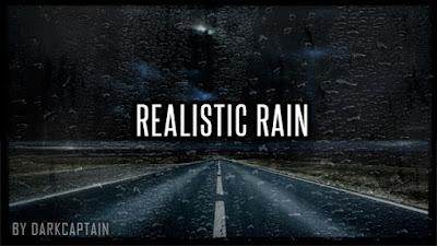 Realistic Rain v3.3 for 1.36