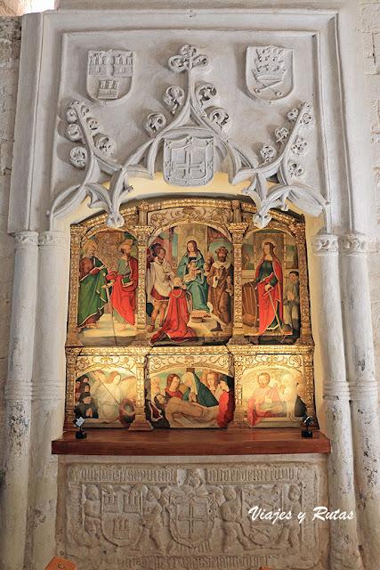 Sepulcros de la Iglesia de Santa María de Wamba