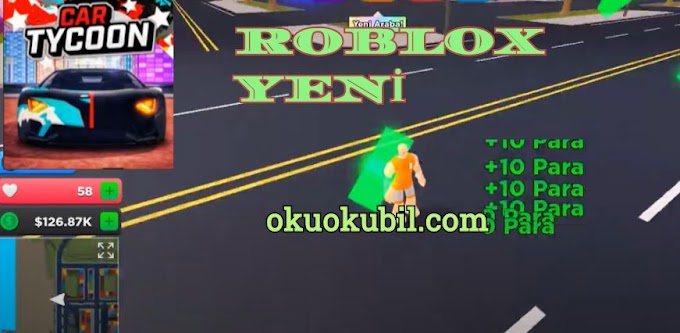 Roblox Car Tycoon Para ve Otomatik Kalp Toplama Farm Script Hilesi, Auto Money Heart Farm