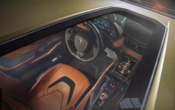 Sunroof Lamborghini Sian